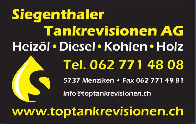 Siegenthaler Tankrevisionen AG - Heizöl, Diesel, Kohlen, Holz