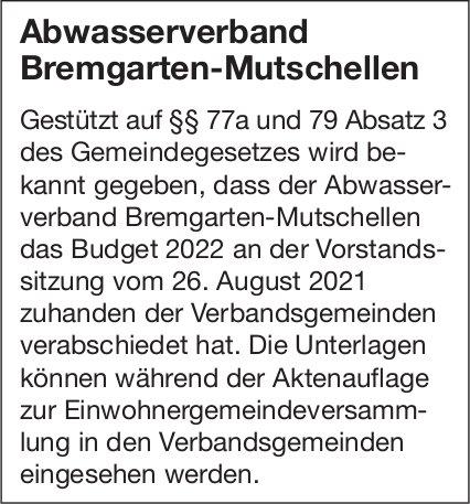 Abwasserverband Bremgarten-Mutschellen