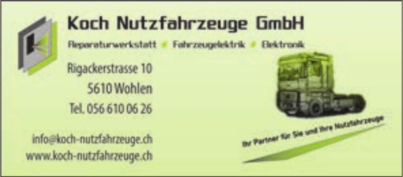 Koch Nutzlahrzeuge GmbH, Wohlen