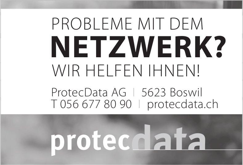 Probleme mit dem Netzwerk, wir helfen Ihnen - ProtecData AG Boswil