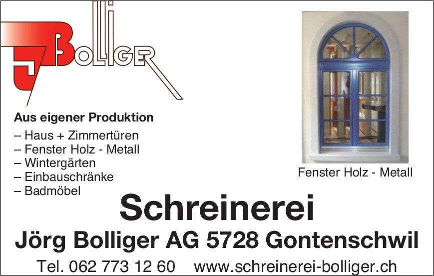 Schreinerei Jörg Bolliger AG, Gontenschwil - Fenster Holz - Metall aus eigener Produktion