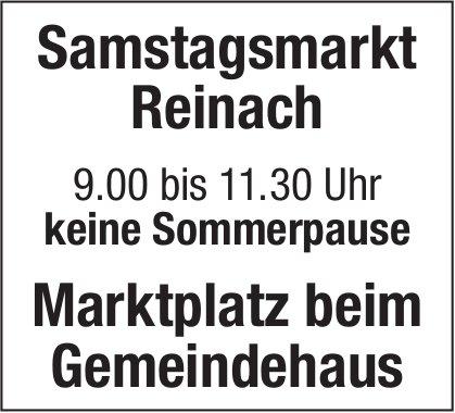 Keine Sommerpause, Samstagsmarkt, Reinach