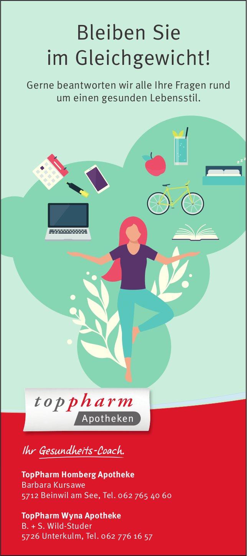 TopPharm Apotheken -  Bleiben Sie im Gleichgewicht!