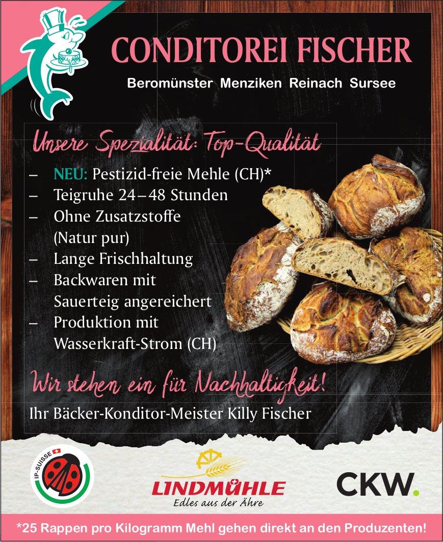 Conditorei Fischer - Unsere Spezialität:Top-Qualität