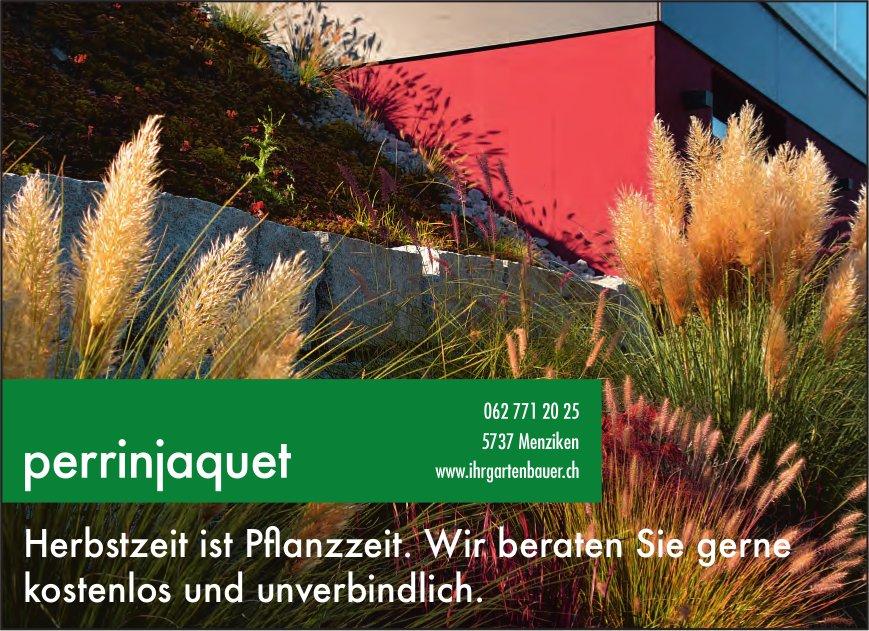 Perrinjaquet, Menziken - Herbstzeit ist Pflanzzeit