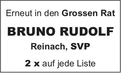 Bruno Rudolf erneut in den Grossen Rat
