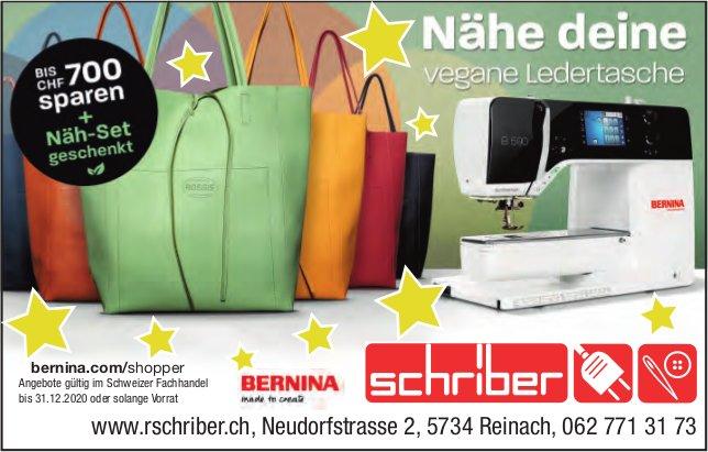 R. Schriber, Reinach - Nähe deine vegane Ledertasche