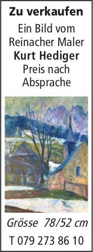 Ein Bild vom Reinacher Maler Kurt Hediger, zu verkaufen