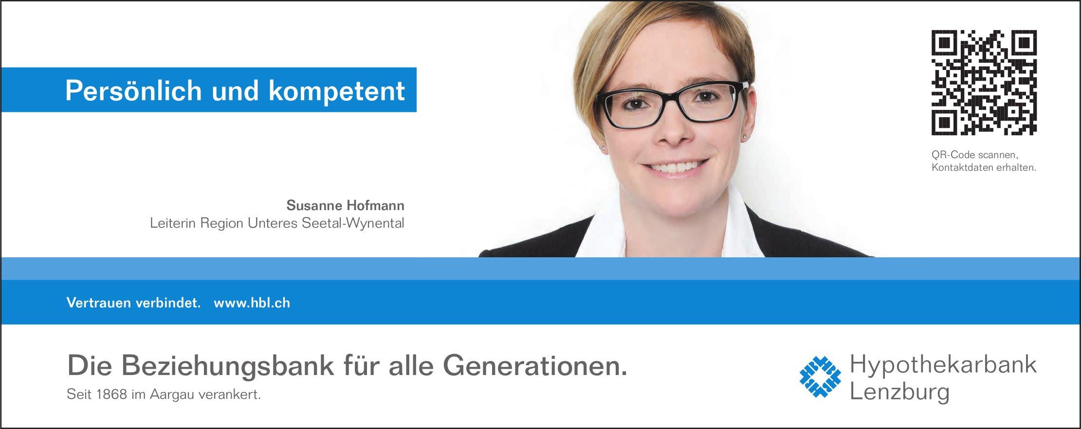 Hypothekarbank, Lenzburg - Persönlich und kompetent