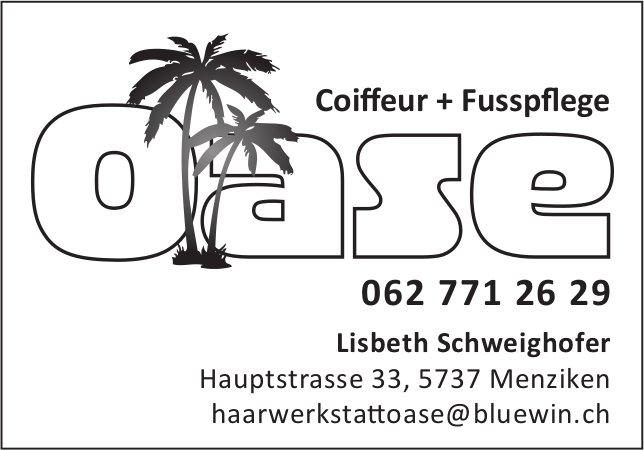 Coiffeur + Fusspflege Oase, Menziken